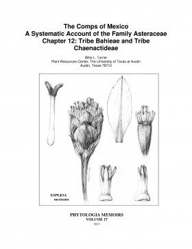 The Comps of Mexico: A Systematic Account of the Family Asteraceae, Chapter 12