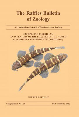 Conspectus Cobitidum: An Inventory of the Loaches of the World (Teleostei: Cypriniformes: Cobitoidei)