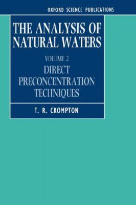 The Analysis of Natural Waters, Volume 2