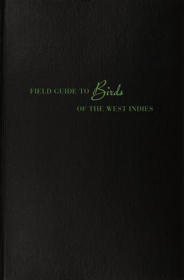 Field Guide to Birds of the West Indies