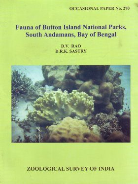 Fauna of Button Island National Parks, South Andamans, Bay of Bengal