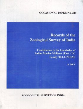 Contribution to the Knowledge of Indian Marine Molluscs, Part 4: Family Tellinidae