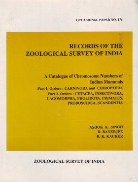 A Catalogue of Chromosome Numbers of Indian Mammals