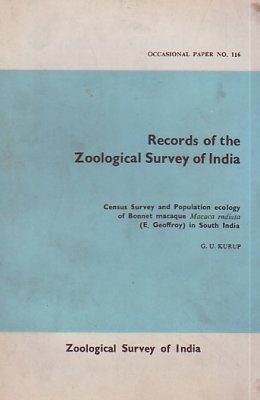 Census Survey and Populations Ecology of Bonnet Macaque Macaca radiata (E. Geoffroy) in South Asia