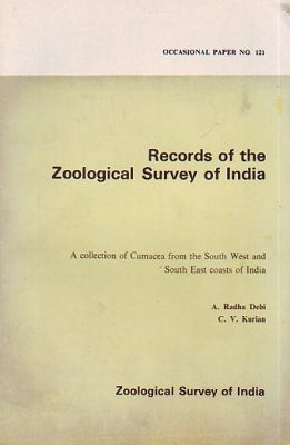 A Collection of Cumacea from the South West and South East Coasts of India
