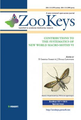 ZooKeys 527: Contributions to the Systematics of New World Macro-Moths VI