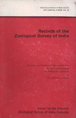 Ecology and Ethology of the Spotted Deer Axis axis axis (Erxleben) (Artiodactyla: Cervidae)