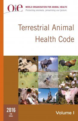 Terrestrial Animal Health Code 2016 (2-Volume Set)
