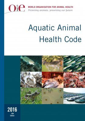 Aquatic Animal Health Code 2016