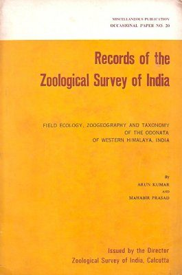 Field Ecology, Zoogeography and Taxonomy of the Odonata of Western Himalaya, India
