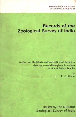 Studies on the Pholidosis and Variability in Characters Showing Sexual Dimorphism in Various Species of Indian Reptiles