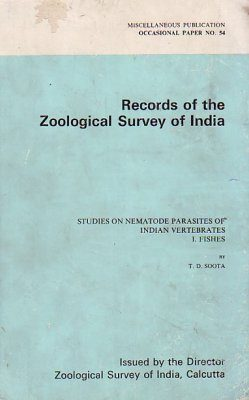 Studies on Nematode Parasites of Indian Vertebrates, 1: Fishes