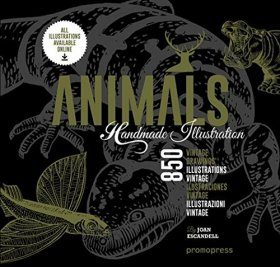 Animals: 1000 Handmade Illustrations