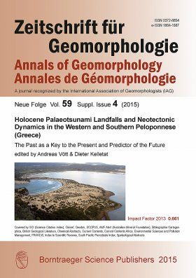 Holocene Palaeotsunami Landfalls and Neotectonic Dynamics in the Western and Southern Peloponnese (Greece)
