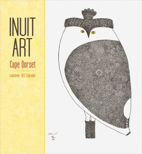 Inuit Art: Cape Dorset 2017 Wall Calendar