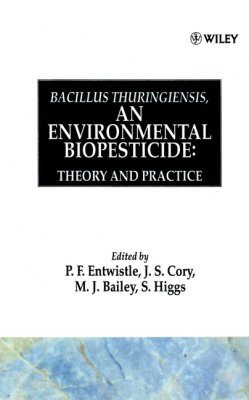 Bacillus Thuringiensis: An Environmental Biopesticide