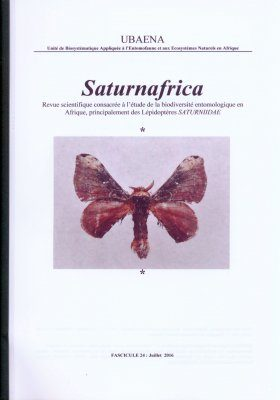 Saturnafrica, Volume 24 [French]