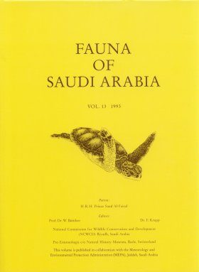 Fauna of Saudi Arabia, Volume 13