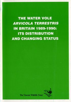 The Water Vole (Arvicola terrestris) in Britain, 1989-1990