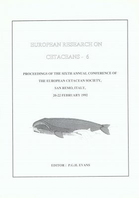 European Research on Cetaceans, Volume 6