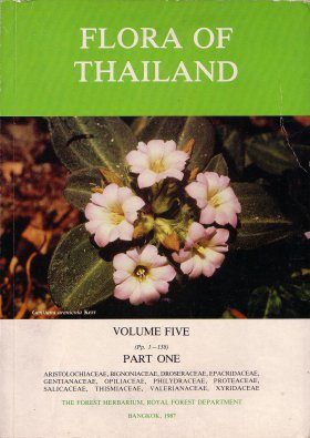 Flora of Thailand, Volume 5, Part 1