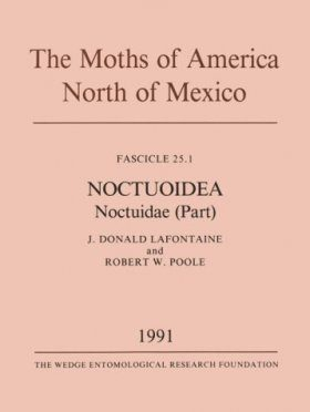 The Moths of America North of Mexico, Fascicle 25.1: Noctuoidea: Noctuidae (Part): Plusiinae