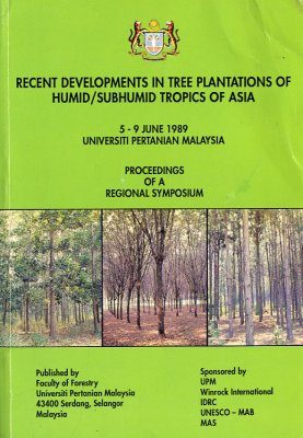 Recent Developments in Tree Plantations of Humid/Subhumid Tropics of Asia