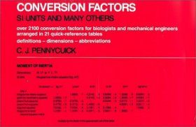Conversion Factors: SI Units and Many Others
