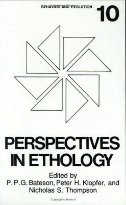 Perspectives in Ethology. Volume 10