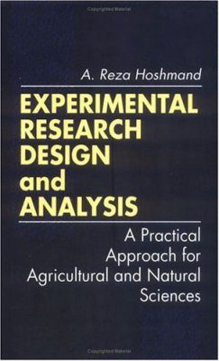 Experimental Research Design and Analysis