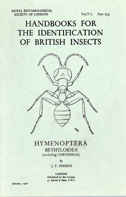 RES Handbook, Volume 6, Part 3a: Bethyloidea, Excluding Chrysididae