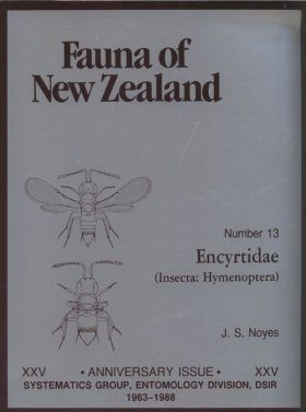 Fauna of New Zealand, No 13: Encyrtidae (Insecta: Hymenoptera)