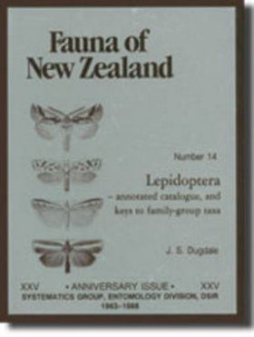Fauna of New Zealand, No 14: Lepidoptera: Annotated Catalogue