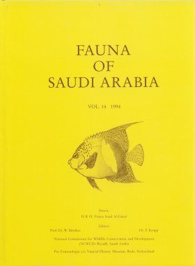 Fauna of Saudi Arabia, Volume 14