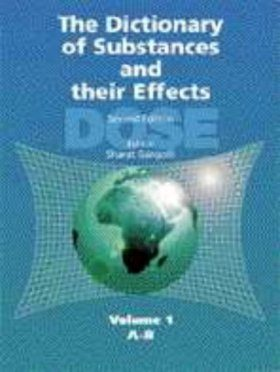 Dictionary of Substances and their Effects, Volume 2