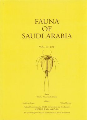 Fauna of Saudi Arabia, Volume 15