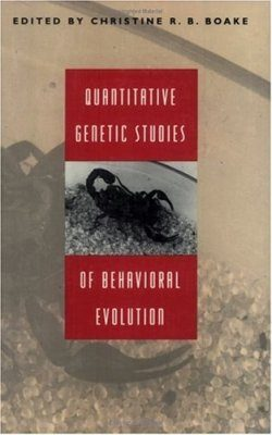 Quantitative Genetic Studies of Behavioral Evolution