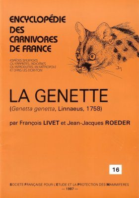 Encyclopédie des Carnivores de France, Part 16: La Genette