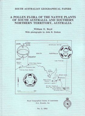 A Pollen Flora of the Native Plants of South Australia and Southern Northern Territory, Australia