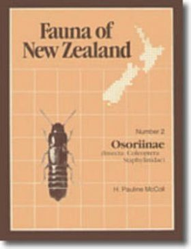 Fauna of New Zealand, No 2: Osoriinae (Insecta: Coleoptera: Staphylinidae)