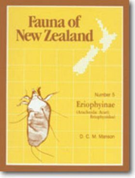 Fauna of New Zealand, No 5: Eriophyinae (Arachnida: Acari: Erioiphyoidea)