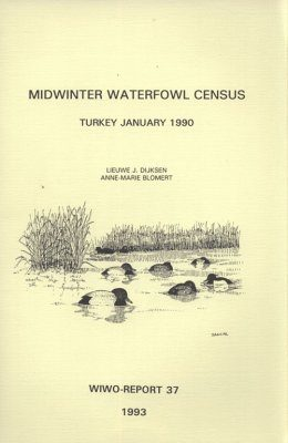 Midwinter Waterfowl Census, Turkey, January 1990