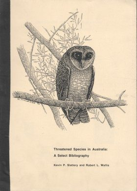 Threatened Species in Australia: A Select Bibliography - 1993 Supplement