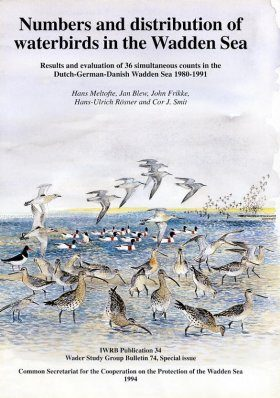 Numbers and Distribution of Waterbirds in the Wadden Sea