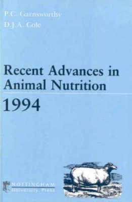Recent Advances in Animal Nutrition 1994