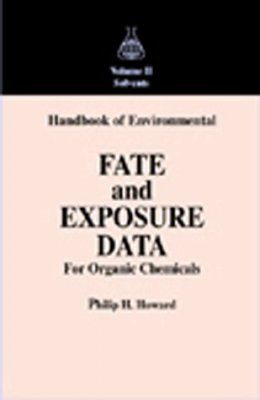 Environmental Fate and Exposure of Organic Chemicals, Volume 2