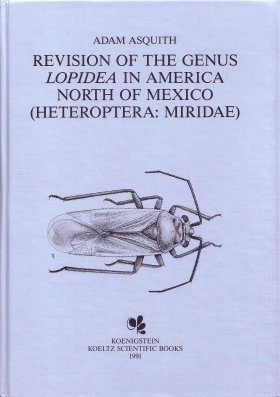 A Revision of the Genus Lopidea in America north of Mexico (Heteroptera: Mridae: Orthotylinae)