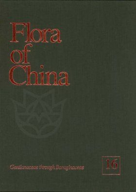 Flora of China, Volume 16: Gentianaceae through Boraginaceae