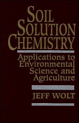 Soil Solution Chemistry