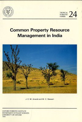 Common Property Resource Management in India
